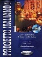 Nuovo Progetto Italiano 1 Libro dello studente + DVD-ROM